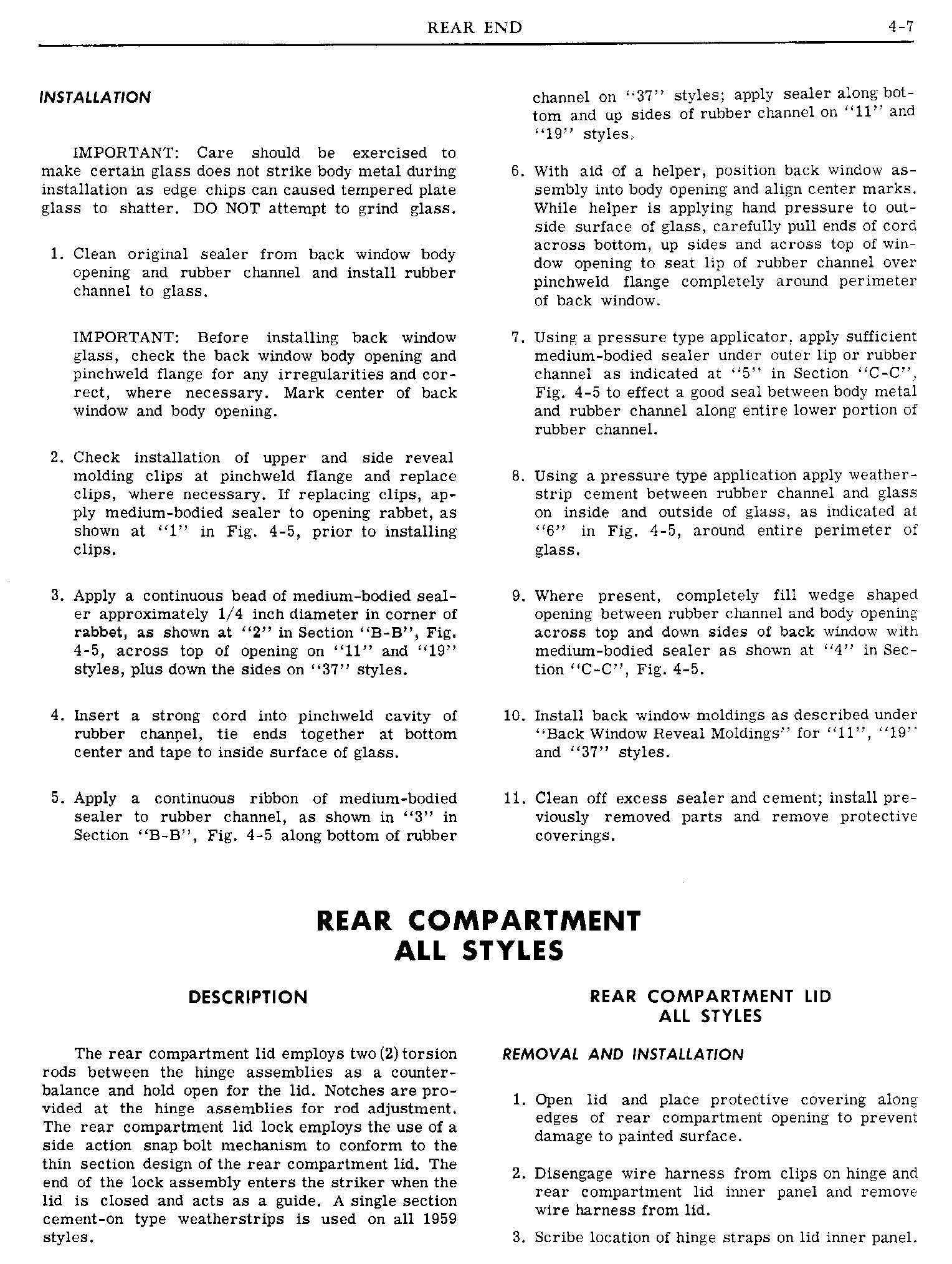1960 Pontiac Shop Manual- Rear End Page 7 of 26