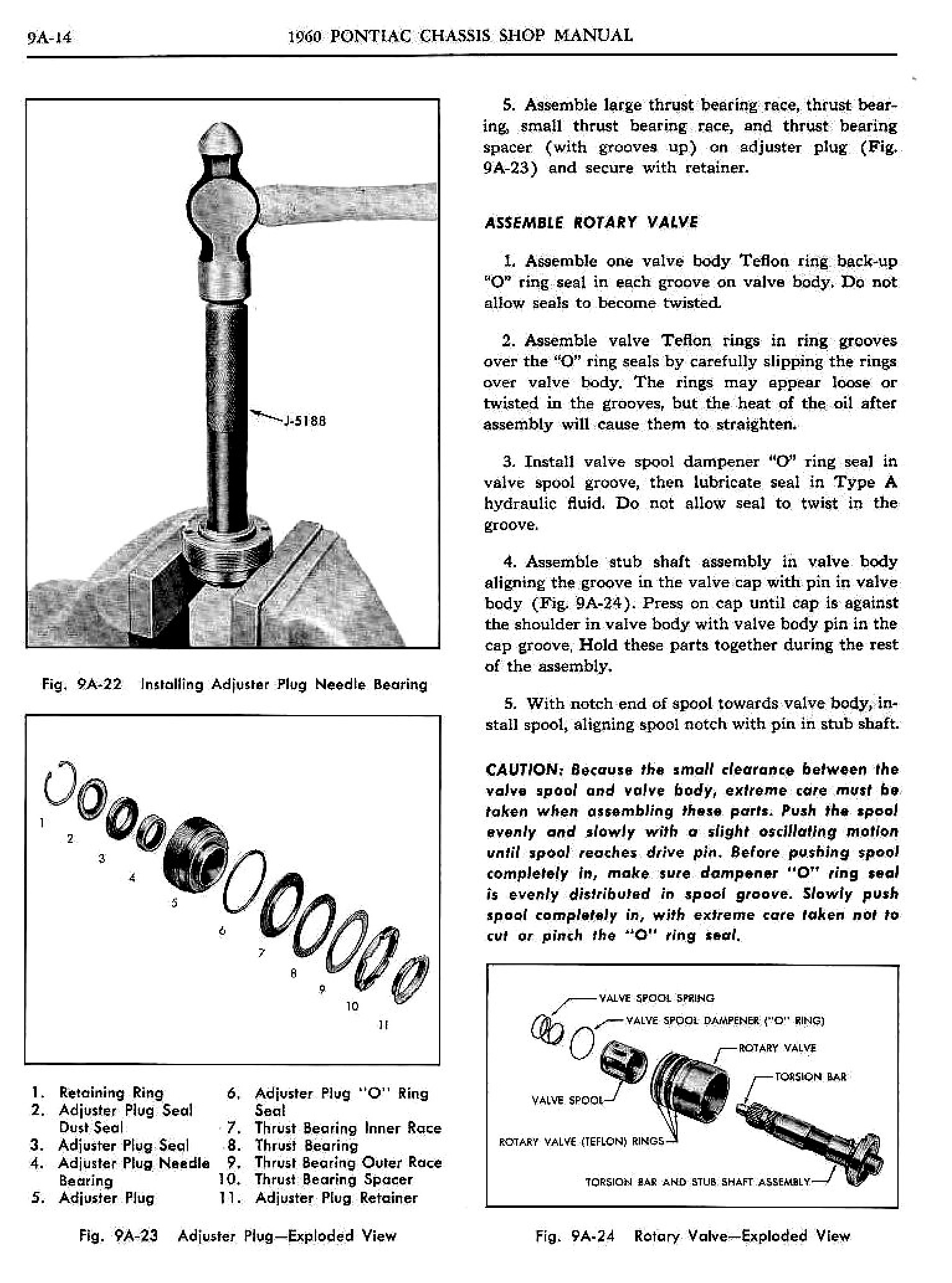 1960 Pontiac Shop Manual- Power Steering Page 14 of 39